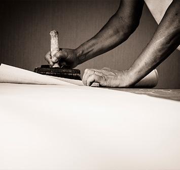 Pose papier peint par des professionnels