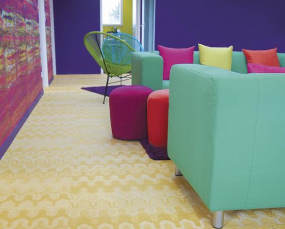 Décoration mur et sol bureaux professionnels lejaspeinture